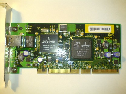 PCI-64, Gigabit LAN 3COM