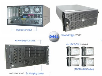 Dell PowerEdge 2500 1.4/2GB/73GB-U160 10K