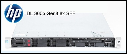 repasovany server HP DL360 Gen8