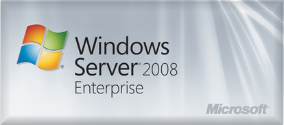 Windows Server 2008 R2 Enterprise 1-8 CPU 25 CAL